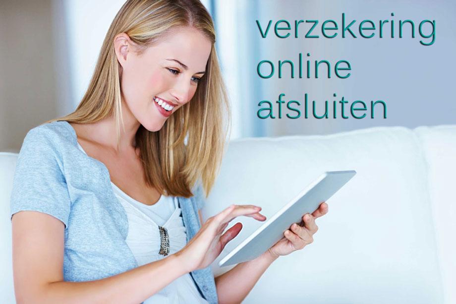 Een verzekering online afsluiten